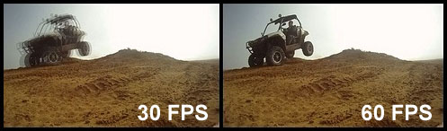 30 FPS против 60 FPS
