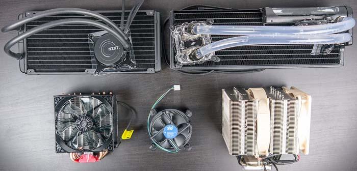 Виды охлаждения для процессоров