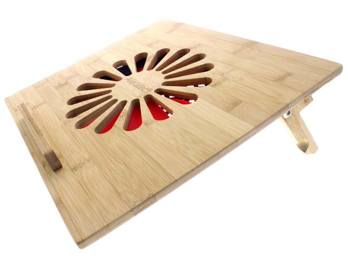 деревянная подставка для ноутбука